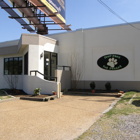 Exterior of Four Paws Pet Resort